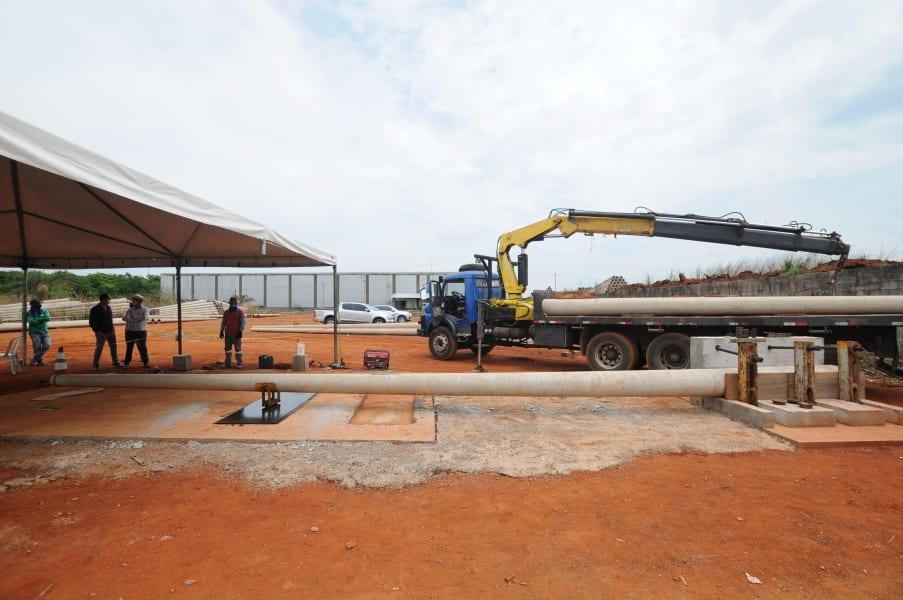 Poste de concreto CC 12/600 - Ensaio Mecânico
